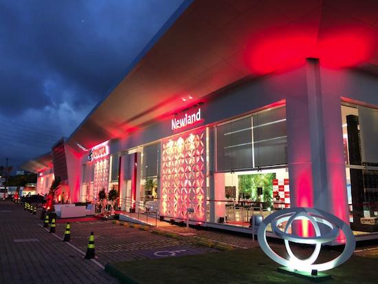 Nova Loja Toyota em João Pessoa