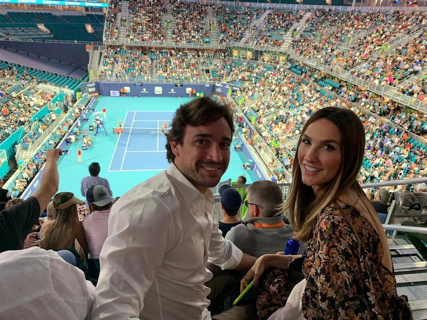Rodrigo Carvalho e Marcela Turbay