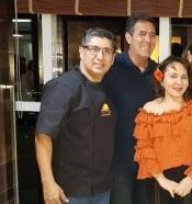 Juan Yugar, Luiz Gastão  Bittencourt e regina Pinho