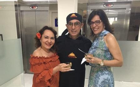 Regina Pinho, Javier Yugar e Janusa Brasil