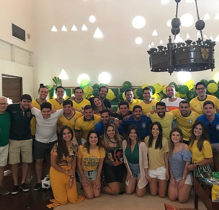 Omar Macedo e os amigos