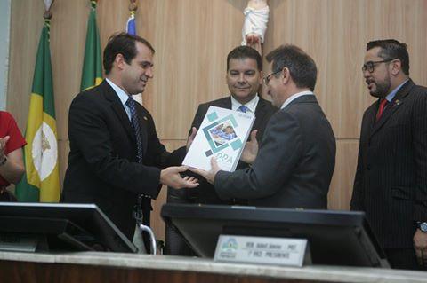 Salmito Filho e Philipe Notthingham