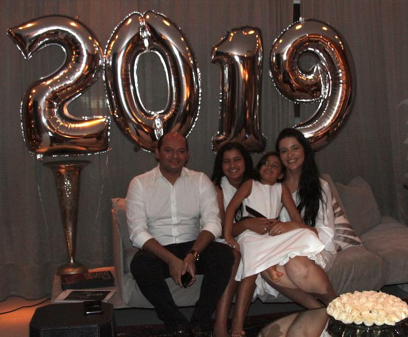 Otílio, Manu, Luiza e Maria