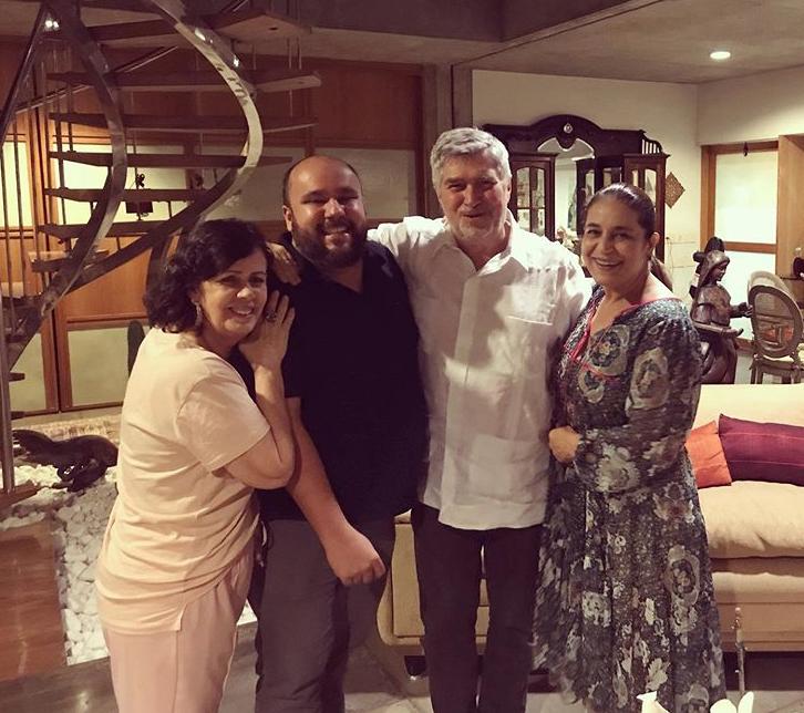 Neuma Figueiredo, Erico Monteiro, Amarílio e Patrícia Macêdo