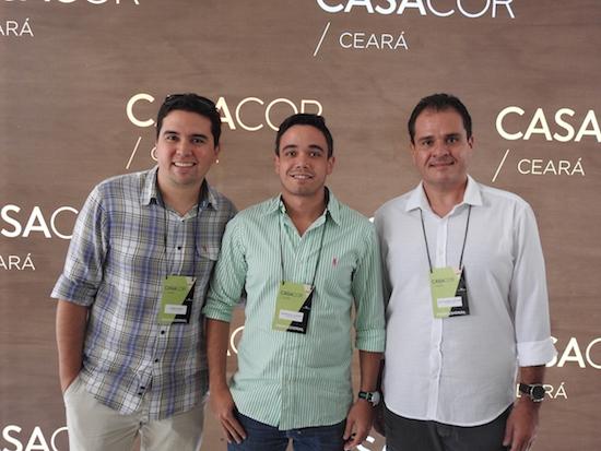 Andre Pires, Marcelo Antero e Alexandre Macedo