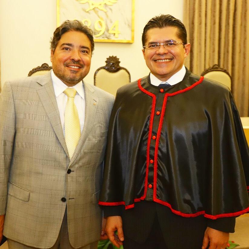 Leandro Vasques e  Valdetário Monteiro