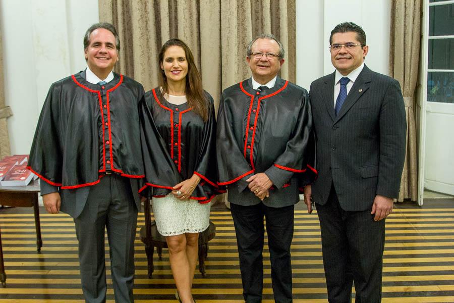 Ricardo e Manoela Bacelar, José Damasceno e Valdetário Monteiro