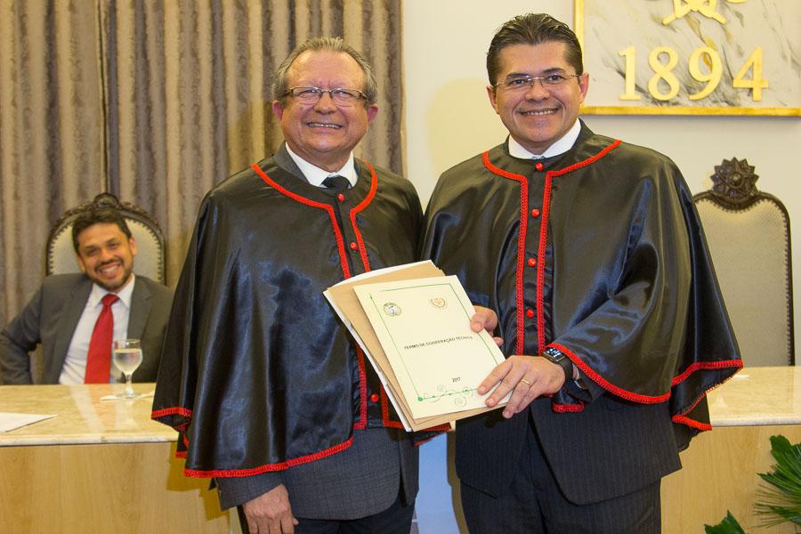 José Damasceno e  Valdetário Monteiro