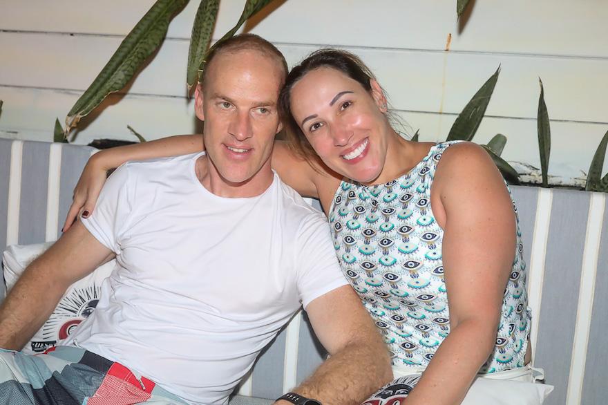 Emanuelle e Marcio Esher