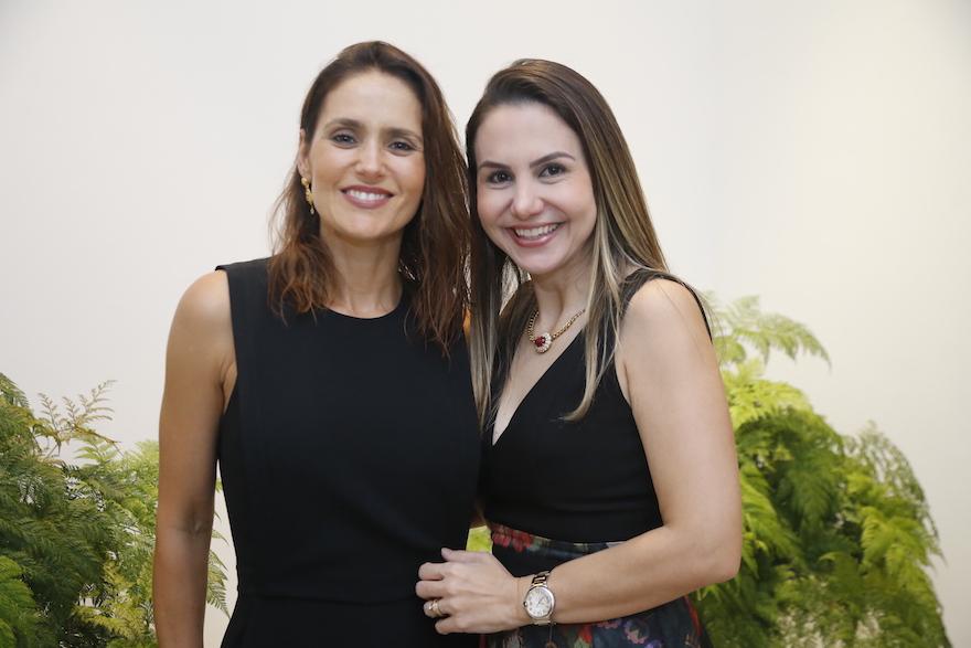 Manoela Bacelar e Adriana Queiroz