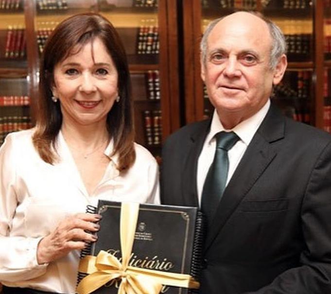 Carmen Inês e Gladyson Pontes