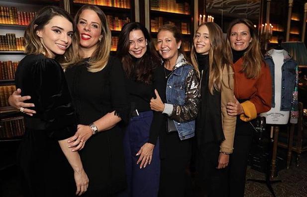 Donata, Patsy Scarpa, Marcia Toniolo e Melissa Moraes