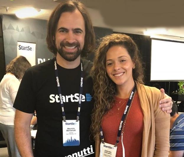 Mauricio Benvenutti e Gabriela Teixeira