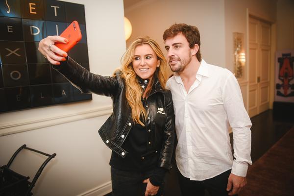 Gabriela Moreno Sanches e Fernando Alonso
