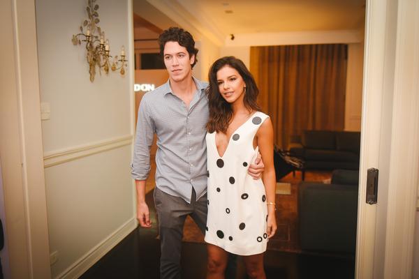 Lucas Kalil e Mariana Rios
