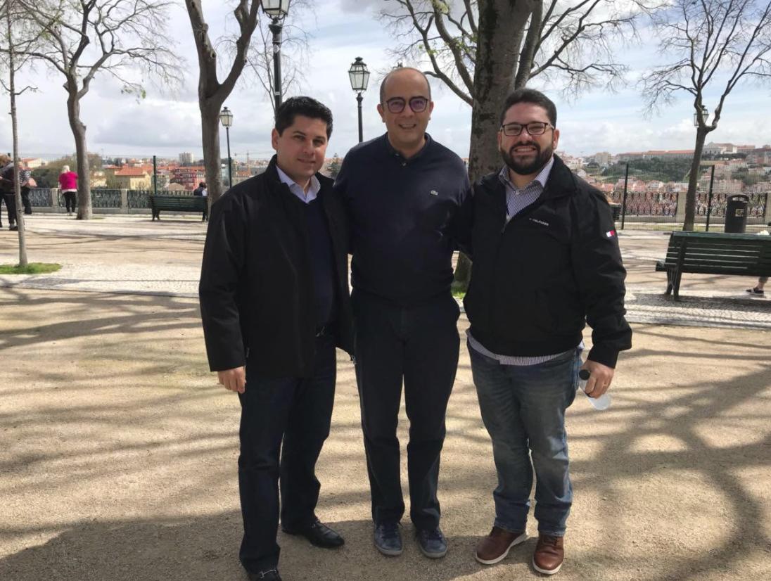Pompeu Vasconcelos, Adriano Araújo e Inácio Aguiar
