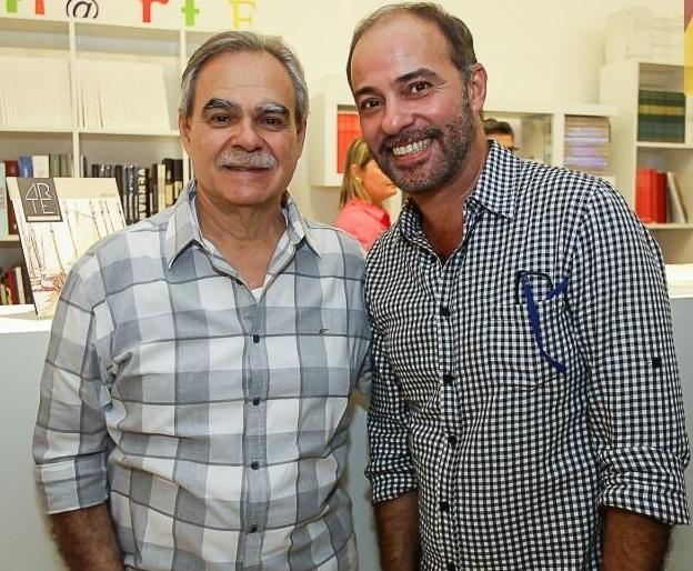 Max Perlingeiro e Marcos Novais