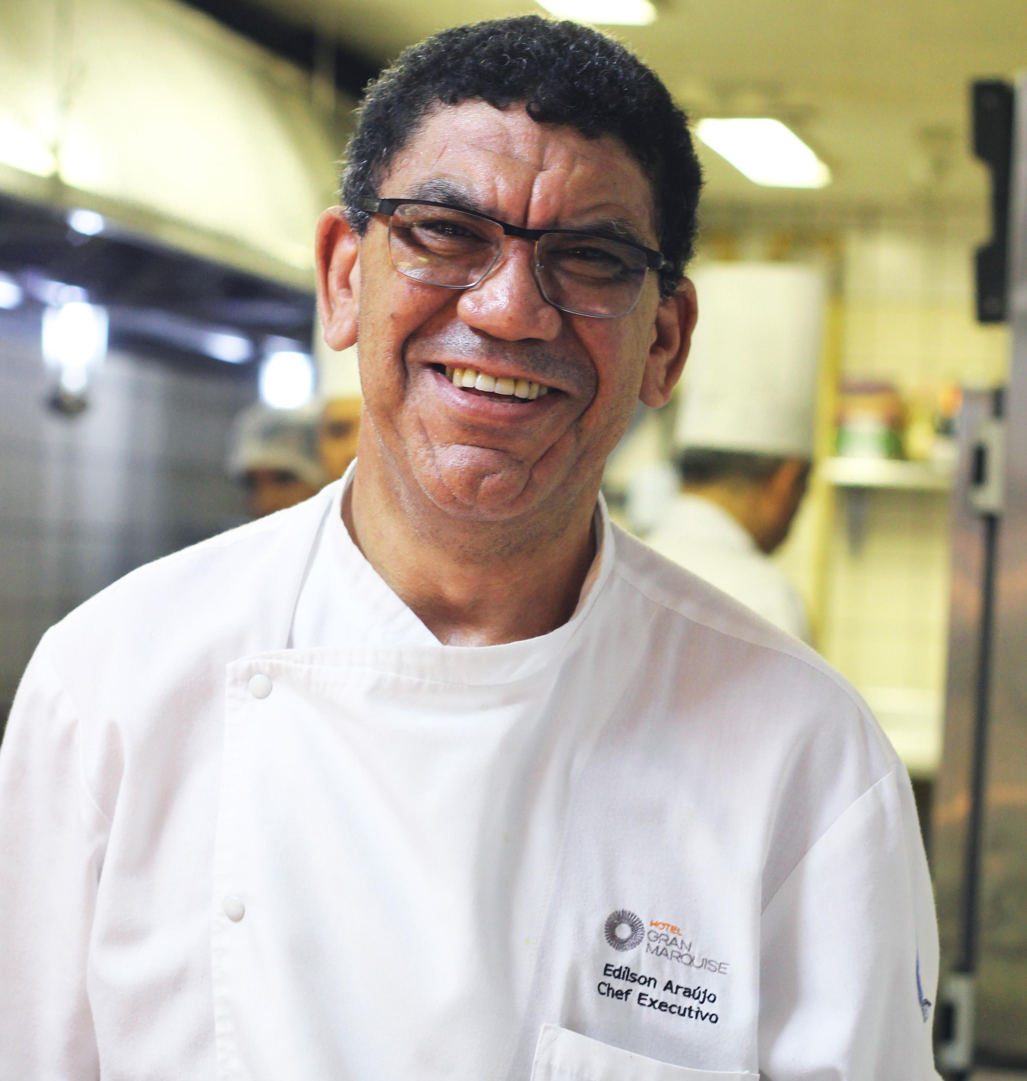 Chef Edilson Araújo