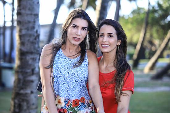 Mariana Rennoi, Gisele Leal, Livia Mentges e Lorrane Mendonc?a