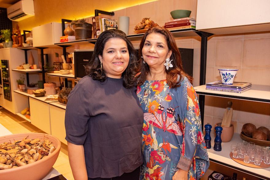 Camila Camara e Celina Castro Alves