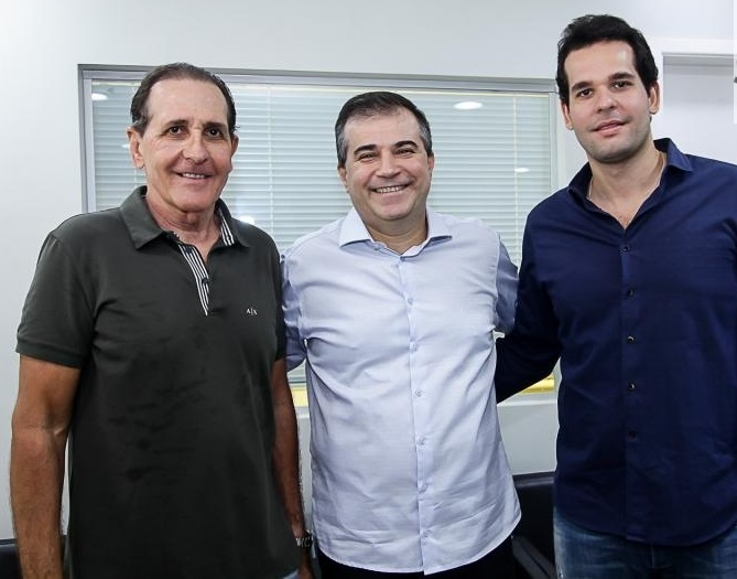 João Fiúza, Ricardo Bezerra e Joãozinho Fiúza