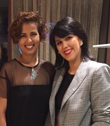 Jamylle Weyne e Carolina Figueiredo