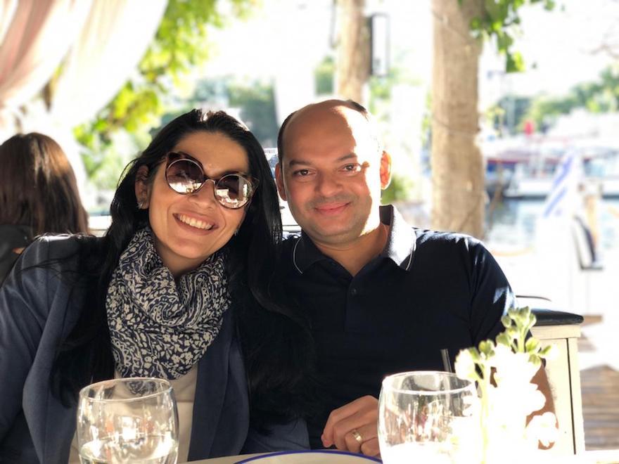 Manuela Macêdo e Otílio Ferreira