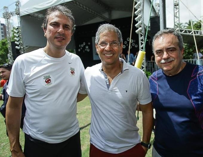 Camilo Santana, Severino Ramalho Neto e Assis Cavalcante