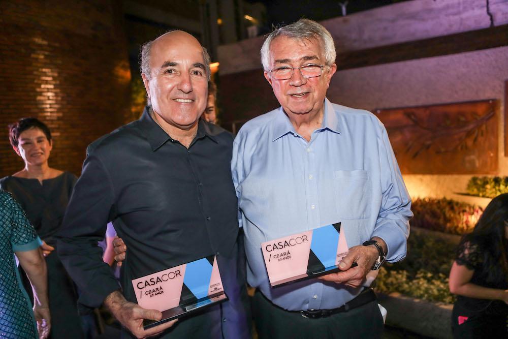 Silvio Frota e Roberto Macedo