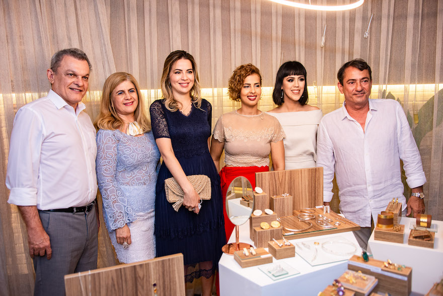 Sarto Nogueira, Telma Aguiar, Onelia Leite, Jamylle Weyne, Carolina Figueiredo e Claudio Quindere