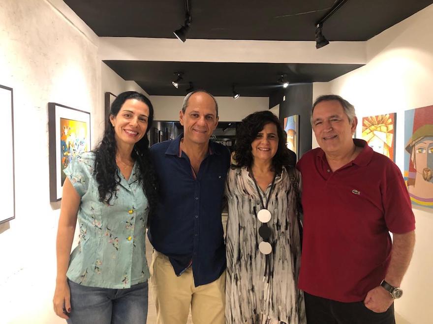 Fernanda Zeballos, mano alencar, Marcelo e Marcia Barreto
