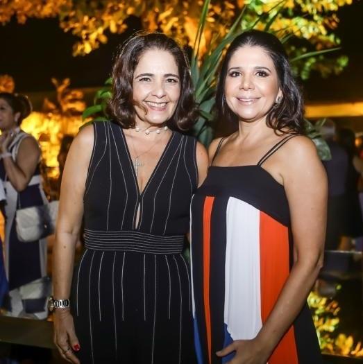 Giana Studart e Maria Lúcia Negrão