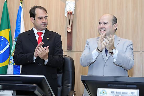 Silmito Filho e Roberto Cláudio