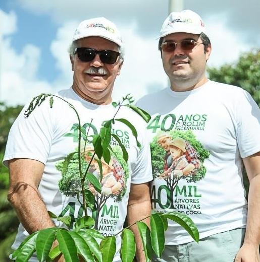 Pio Rodrigues Neto e Edson Queiroz Neto