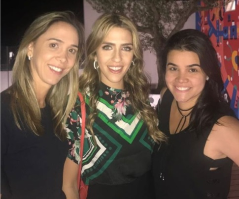 Lívia Vieira, Roberta Ary e Priscila Leal