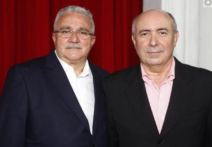 Alcimor Rocha e Amarilio Cavalcante