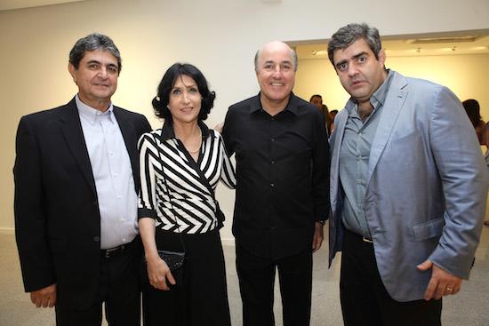 Paulo Darzé, Denise Mattar, Silvio Frota e Carlos Dale