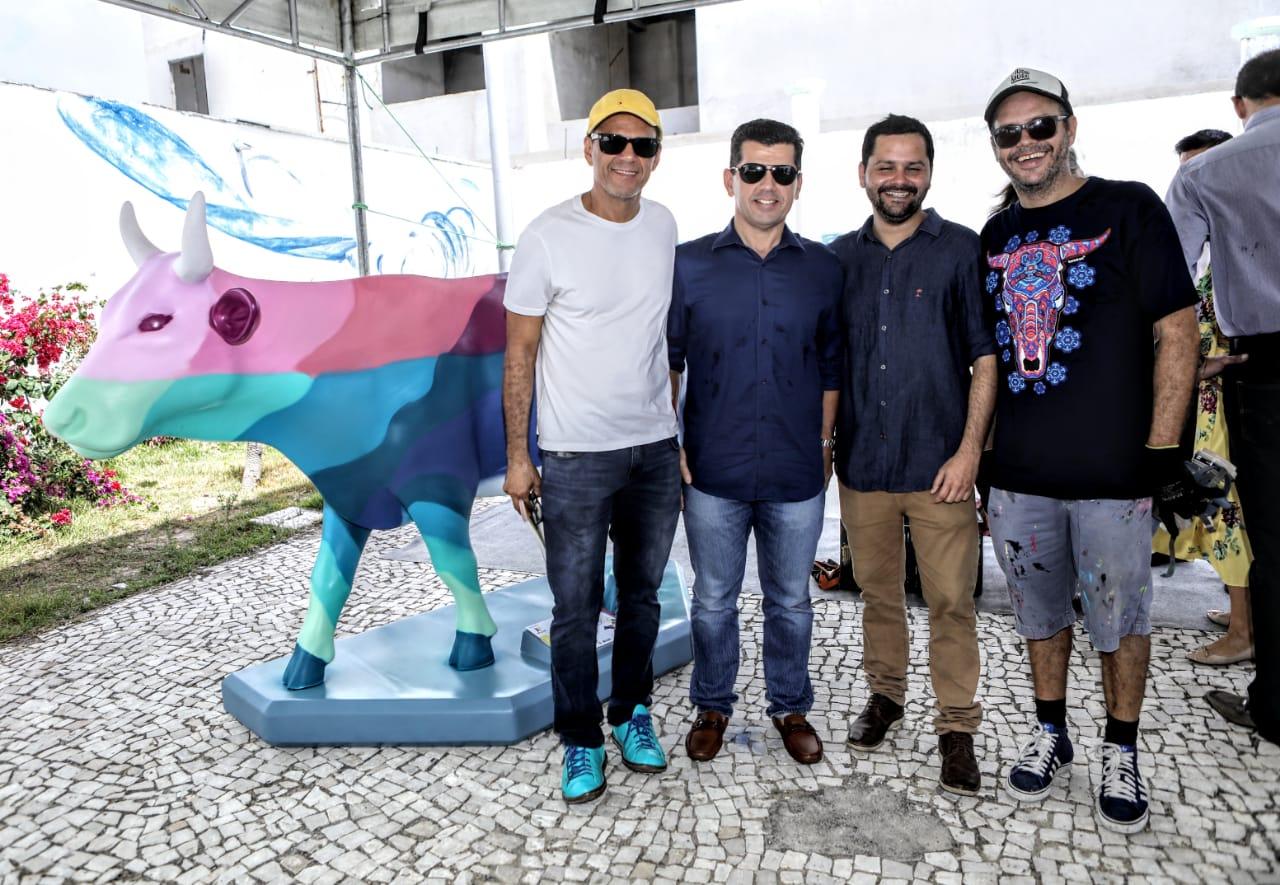 Mano Alencar, Erick Vasconcelos, Davi Gomes, Narcélio Grud