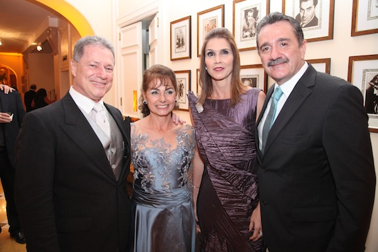 Jacob Barata, Maria Clarisse, Glaucia e Bismarck Maia