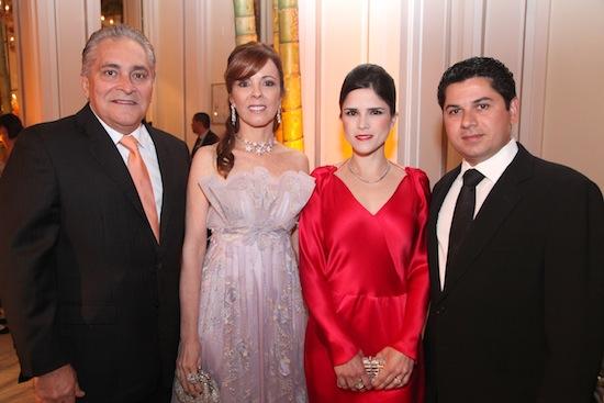 Luiz e Karizia Pontes, Marilia e Pompeu Vasconcelos