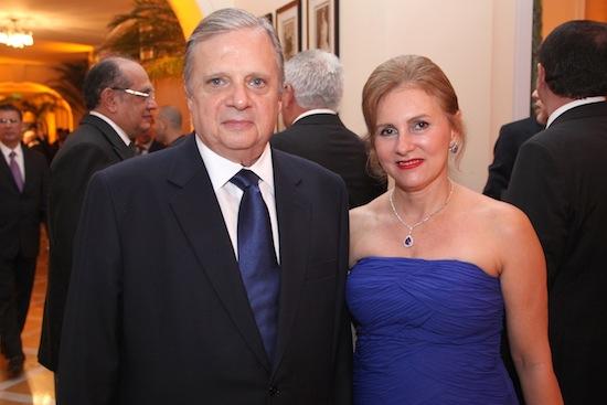 Tasso e Renata Jereissati