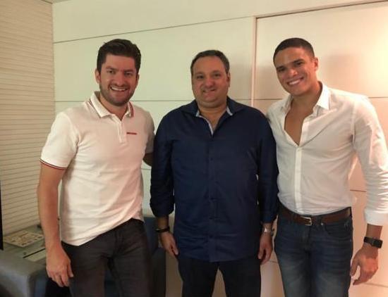 Paulo José, Patriolino Dias e Marcos Lessa