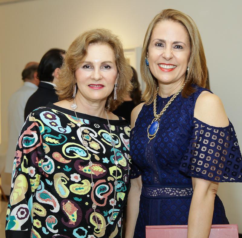 Renata Jereissati e Tereza Távora