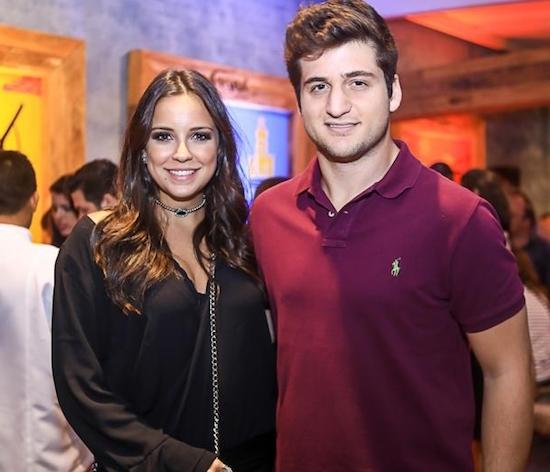 Fernanda Levy e Omar Macedo