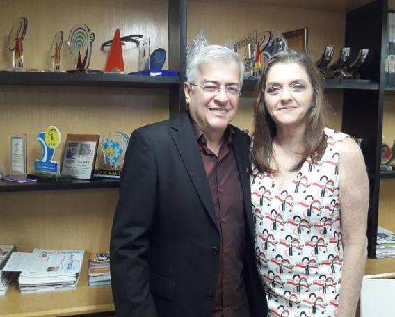 Paulo Cesar Norões  e Carmen Lúcia Dummar Azulai