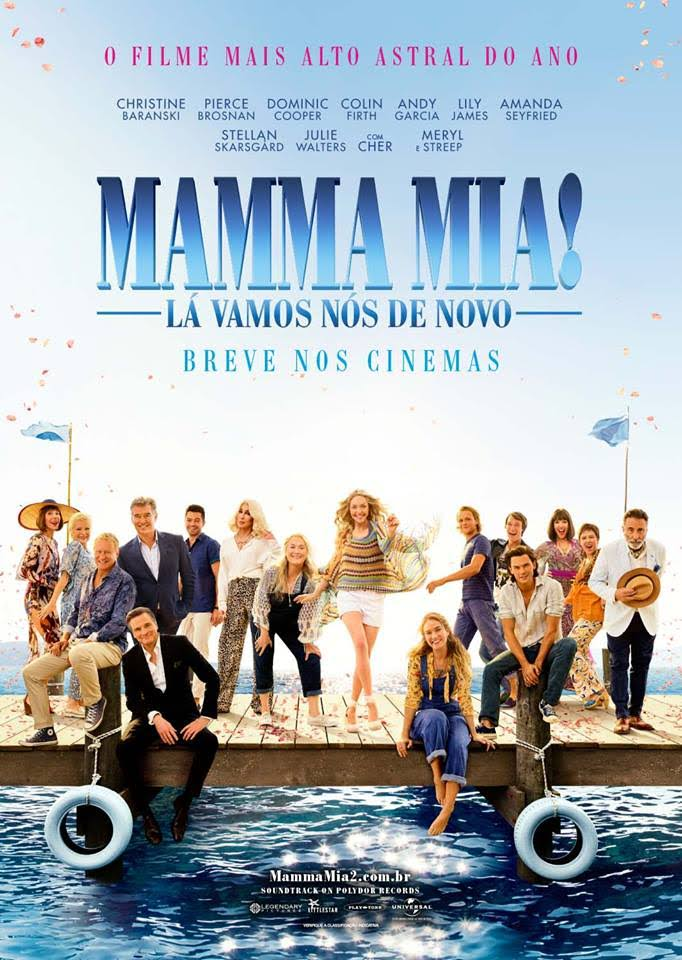 Mamma Mia: Lá vamos nós de novo!