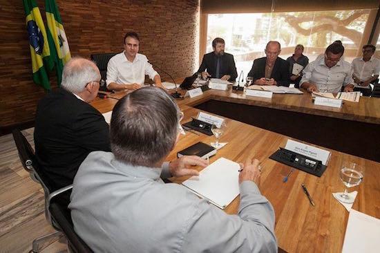 Governador e representantes da CNBB