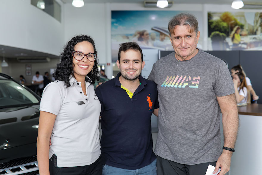 Karol Mota, Paulo Pinheiro e Antonio Pinheiro