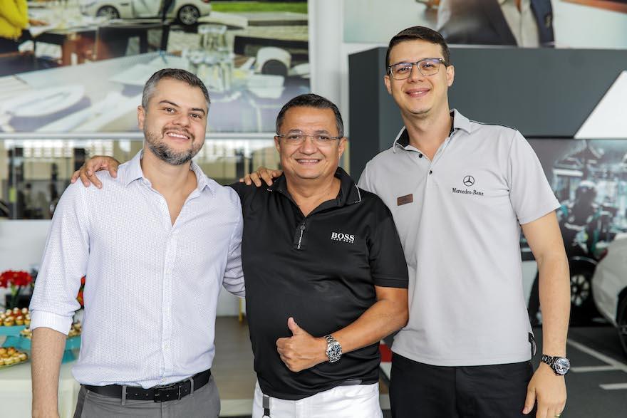 Glauco Brasileiro, Carlos Ramos e Thiago Vidal