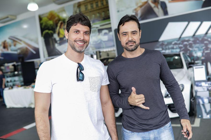 Danilo Magalhaes e Maxuel Moreira